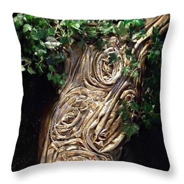 Tree Goddess Throw Pillow