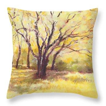 Trees2 Throw Pillow