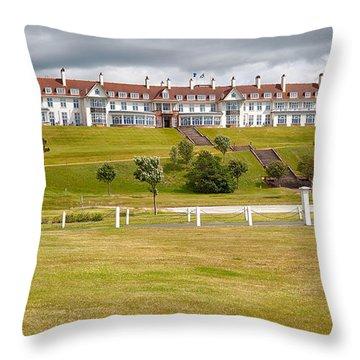 Turnberry Resort Throw Pillow