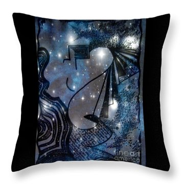 Universal Feminine Throw Pillow by Leanne Seymour