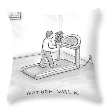 New Yorker November 7th, 2016 Throw Pillow