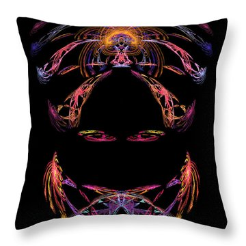 Veiled Lady Throw Pillow by Jane McIlroy