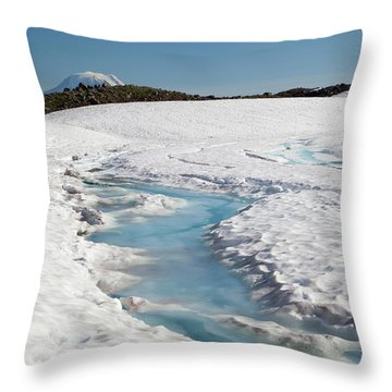 Goat Rocks Wilderness Throw Pillows