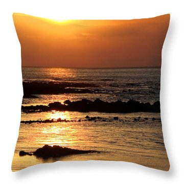 Waikoloa Sunset Throw Pillow