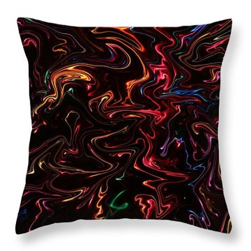 Throw Pillow featuring the photograph Warp It Up by Bill Kesler