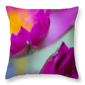 Waterlily Dream Throw Pillow