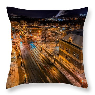 Wausau After Dark Throw Pillow