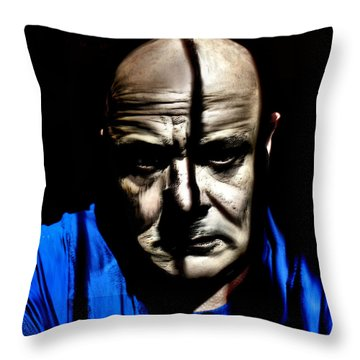 Welcome Mr Sandusky Throw Pillow