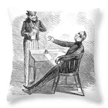 Wendell Phillips (1811-1884) Throw Pillow