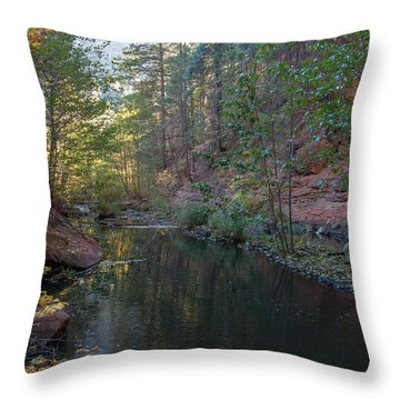West Fork Throw Pillow