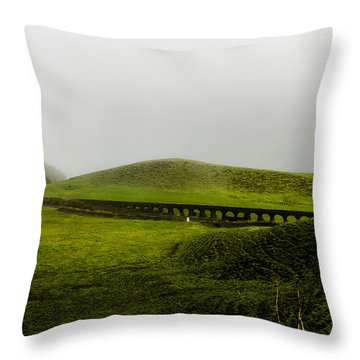 When The Romans Came Throw Pillow