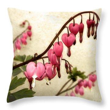 Where Love Grows Throw Pillow