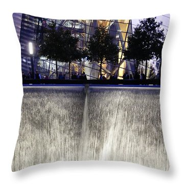 World Trade Center Museum Throw Pillow