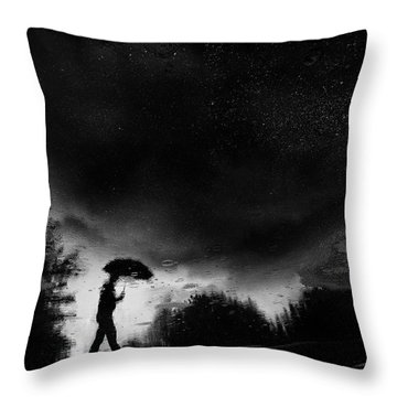 Puddle Throw Pillows