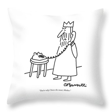 You're Why I Have The Moat Throw Pillow
