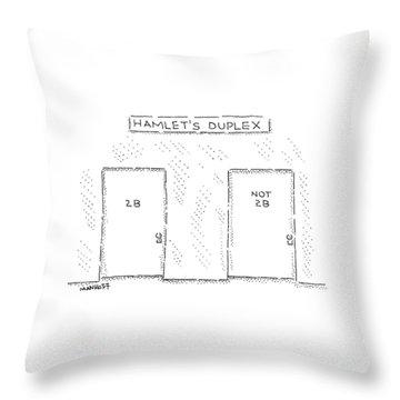 New Yorker August 3rd, 2009 Throw Pillow