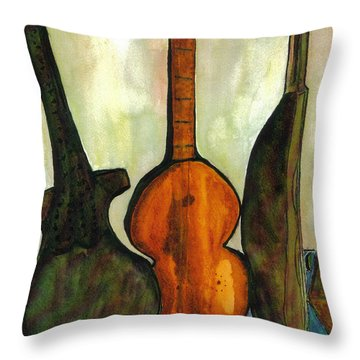 200 Year Old Compostition Throw Pillow by Lesley Fletcher