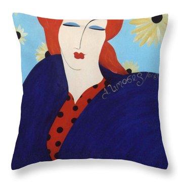 2001 Collection Throw Pillow