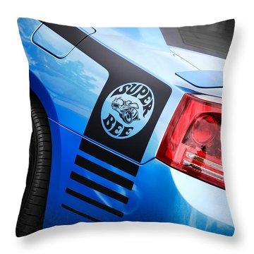 2008 Dodge Charger Srt-8 Super Bee Throw Pillow