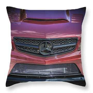 2013 Mercedes Sl Amg Throw Pillow by Rich Franco