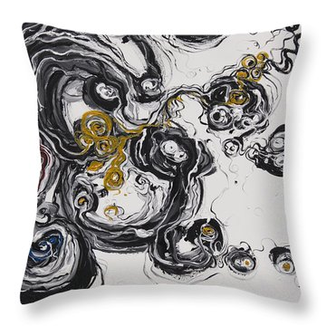 2013_addiction Throw Pillow by Ted Domek