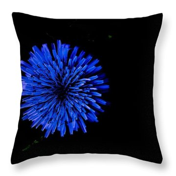 Illumination Flower Throw Pillow