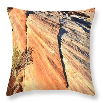 Valley Of Fire Throw Pillow