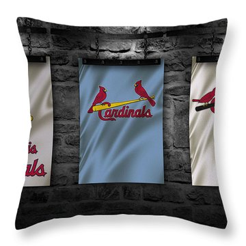 St Louis Cardinals Throw Pillows Fine Art America Inspiration St Louis Cardinals Throw Blanket