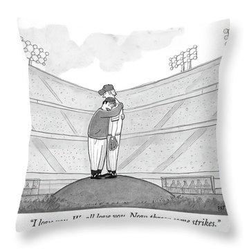 I Love You. We All Love You. Now Throw Some Throw Pillow