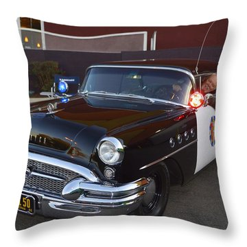 2150 To Headquarters Throw Pillow by Tommy Anderson