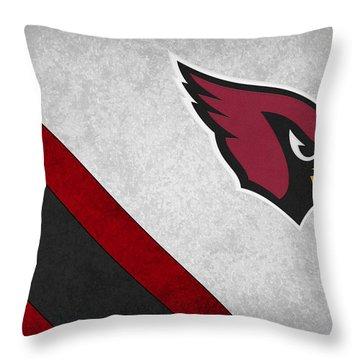 Arizona Cardinals Throw Pillow by Joe Hamilton