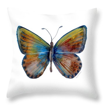 22 Clue Butterfly Throw Pillow
