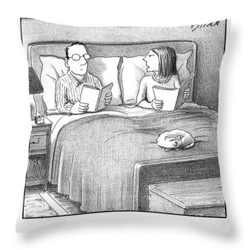 Could You Stop Making That Breathing Sound? Throw Pillow