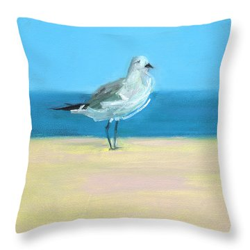 Shores Throw Pillows