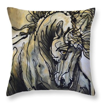 24 Carrot Throw Pillow
