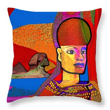 244 - Remembering  Old Egypt   Throw Pillow