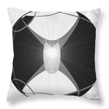 250 - The Center   Throw Pillow by Irmgard Schoendorf Welch