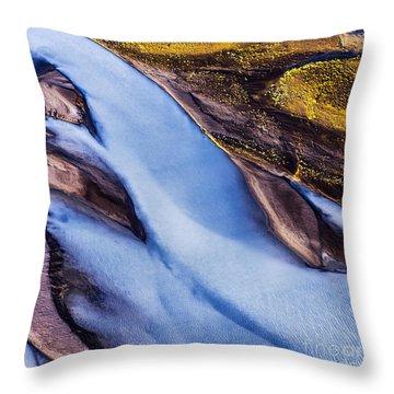 Aerial Photo Throw Pillow