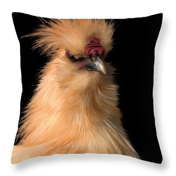 26. Capt. Lemon Throw Pillow