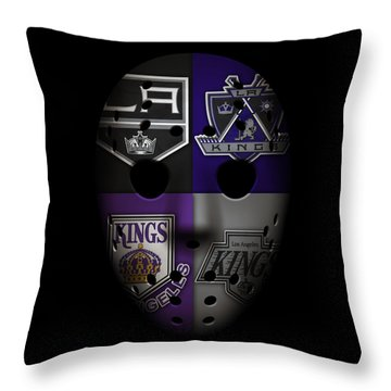 Los Angeles Kings Throw Pillow