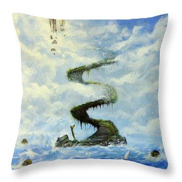 No Title  Throw Pillow by Mariusz Zawadzki