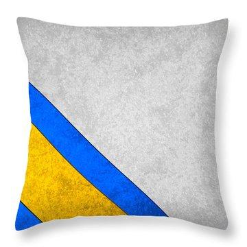 San Diego Chargers Throw Pillow by Joe Hamilton
