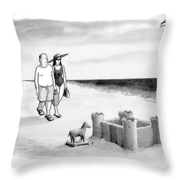 New Yorker June 12th, 2006 Throw Pillow
