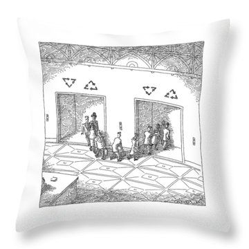 New Yorker May 18th, 2009 Throw Pillow