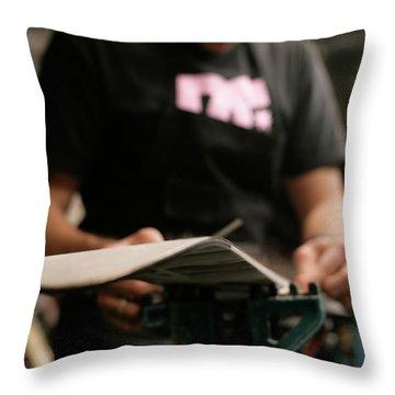 Amador County Throw Pillows