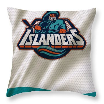 New York Islanders Throw Pillows