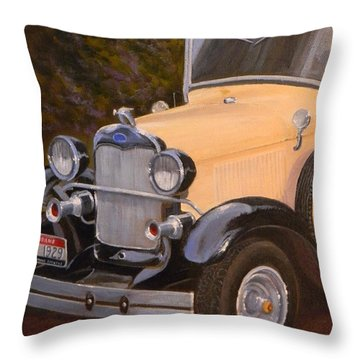 29' Ford Throw Pillow