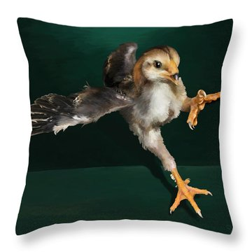 29. Yamato Chick Throw Pillow
