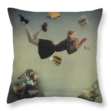 Posing Throw Pillows