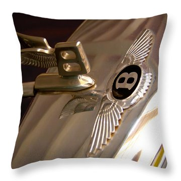 1956 Bentley S1 Throw Pillow